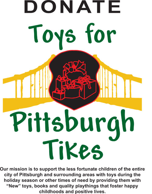 Toys for Pittsburgh Tikes 2018