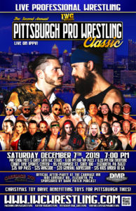 IWC Wrestling Event Benefitting toys for Pittsburgh Tikes